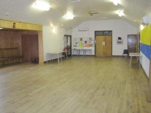 Main hall area